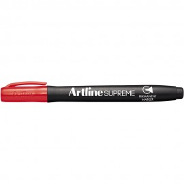 Permanent Marker Pens (box of 12) Red