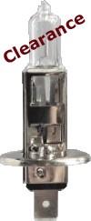 10 x EB448 Bulbs Halogen 12v-55w H1 CAP