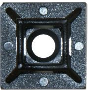 Adhesive Cable Ties Anchor 4.8mm Black