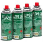 Pack of 4 Camping Gas Canisters