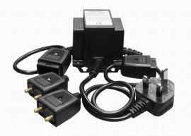 Transformer 240v - 12v Twin Outlet (for handlamp)