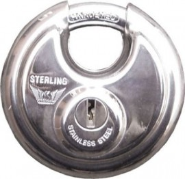Disc Padlock 70mm - 2 keys