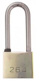 Long Shackle Padlock 40mm - 3 keys