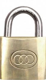 Brass Padlock 50mm - 3 keys